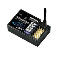 Futaba R334SBS-E 4-Channel T-FHSS SR Receiver  HV, 2.4GHz For EP Car Models