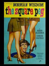 """The Square Peg 16"""" x 12"""" Reproduction Movie Poster Photograph"""