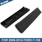 FOR 09-14 Ford F-150 Black Flex Step Side Tailgate Molding Covers LH RH Pair ABS