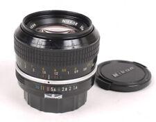 Nikon 50mm F1.4 AI'd Nikkor Lens - Late Rubber Ring Non-AI - Beautiful Glass