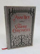 Anne Rice THE VAMPIRE CHRONICLES 3 Vol's in One Knopf, NY DECORATIVE BINDING