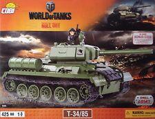 Cobi Small Army World Of Tanks Soviet Medium Tank T-34/85 Toy Bricks