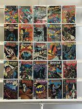 Batman Detective Comics  Dc 25 Lot Comic Book Comics Set Run Collection Box6
