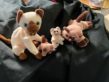 Pound Purries And Ty Siam Beanie Baby