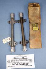 NOS 1953-1962 CHEVROLET CORVETTE FRONT LOWER CONTROL ARM SHAFT UNIT PAIR 3693459