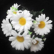 Beautiful Artificial White Daisy Gerbera Bush White | Use Indoor & Outdoor