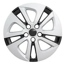 """NEW 2016-2017 Toyota PRIUS 15"""" Silver Black Hubcap Wheelcover"""