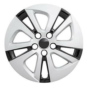 """NEW 2016-2018 Toyota PRIUS 15"""" Silver Black Hubcap Wheelcover"""