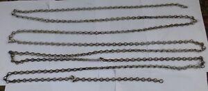 alte feine Eisenkette DDR Kette Stahlkette ca. 5 m Meter lang Lampenkette Eisen