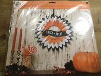 2014 Halloween Party American CRAFTS  Halloween TRICK or TREAT Die Cut Wreath!!