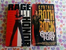 Angel of Fury (VHS) + Rage And Honor (VHS) Cynthia Rothrock