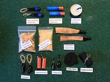"Fire Starter Kit - ""The Sampler"", Bushcraft Outdoor Survival Gear"