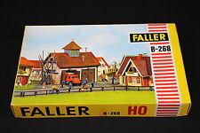 W027 FALLER Train Maquette Ho B-268 Caserne pompiers  feu Feuerwehr Spritzenhaus