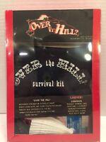 over the hill lady love gift set Gag Gift Survival Kit