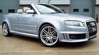 2006 Audi RS4 Cabriolet 4.2 V8 Quattro Avus Silver Massive Spec A Must See!