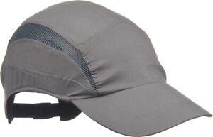 3m First Base 3 Classic Standard Bump Cap, Grey