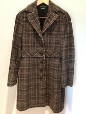 United Colors Of Benetton Wool Blend Dress Coat (Size 40)