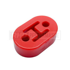 UNIVERSAL POLY POLYURETHANE EXHAUST HANGER MOUNT HEAVY DUTY RED