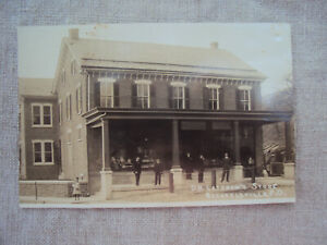 RPPC Bechtelsville PA D H Latshaw's Store  Unposted Divided
