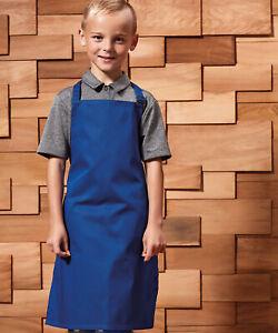 Premier Childrens Apron Junior Childs Kids Kitchen Cooking Baking Bake PR149