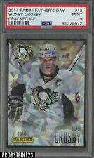 2014 Panini Father's Day Cracked Ice #13 Sidney Crosby PSA 9 #'d 23/25