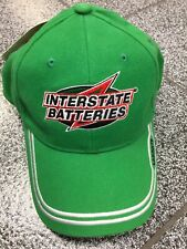 Vintage Bobby Labonte #18 Interstate Batteries Hat Cap NASCAR Racing VTG Dad