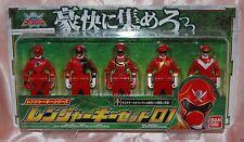 Power Ranger Kaizoku Sentai Gokaiger DX Ranger Key Series Set 01 Bandai