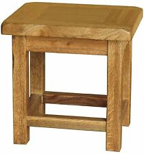 Delaware solid oak furniture small side end lamp table