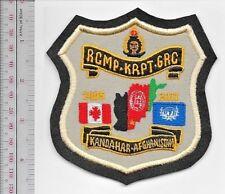 Canada Federal Police Afghanistan Kandahar Provincial Reconstruction Team 2005