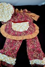 Beautiful Seamstress made 4 piece Outfit with Hat for Tall Himstedt dolls
