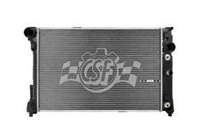 Radiator-2 Row Plastic Tank Aluminum Core CSF 3548