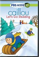 CAILLOU LET'S GO SLEDDING New Sealed DVD PBS