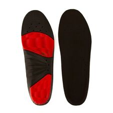 Precision Training Iso Gel Dual Impact Sport Shoe Insole Black/Red - UK 4-7