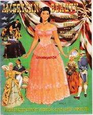 Vintage Uncut 1951 American Beauty Paper Dolls~#1 Reproduction~8 Page Version!