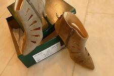Paul Green Stiefeletten, Veloursleder (Samtziege), Farbe: Taupe, Gr.3 1/2- 36