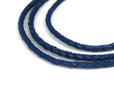 blaugrün 1 m 3 mm Lederband