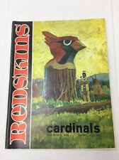 Redskins Vs. Cardinals Oct. 23, 1966 Program! Jurgensen, Mitchell, Taylor!