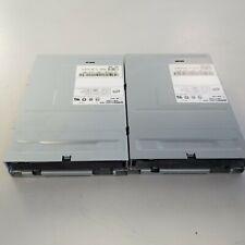 LOT OF 2 - Dell TEAC FD-235HG 3.5 1.44MB Internal Floppy Drive - Black door