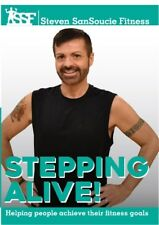 STEPPING ALIVE STEVEN SANSOUCIE STEP DVD NEW SEALED STEP AEROBICS