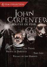 John Carpenter Master of Fear Collect 0025195052054 DVD Region 1