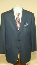 Mens ERMENEGILDO blue 3 button double vent sport coat sz46RUS/ euro 56R