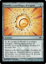 MTG Magic SOM FOIL - Origin Spellborm/Bombe à sortilèges d'origine, French/FR