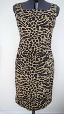 Leopard print dress size 14.