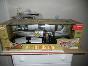 21st Century Toys Ultimate Soldier Flying Undertaker P-51D Mustang 1/18 New