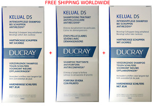 Ducray Kelual DS 100ml (3 X bottles) Anti Dandruff Shampoo