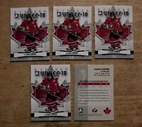 Logan Couture ITG Canada a Lot of 5 Cards