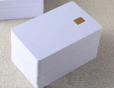 ISO PVC IC con sle4442 Chip Bianco SMART CARD contatto IC Card sicurezza 50pcs LOTTO