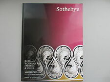 Russian Works of Art, Faberge & Icons. Sotheby's London, 26 November, 2013