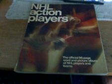 A 1974-1975 Nhl Action Players Complete 96 Page Word And Picture Album