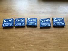 Kaweco Midnight Blue (Blue Black) Ink Cartridges 30 short blue. Vintage pen ink.